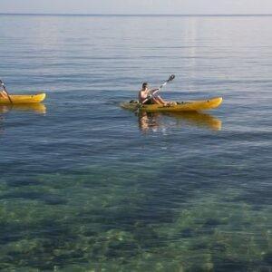 Kayaking at Llatrissant